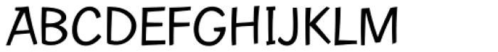 Contemporary Brush URW Regular Font UPPERCASE