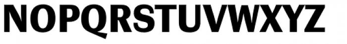 Contemporary Sans Black Font UPPERCASE