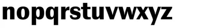 Contemporary Sans Black Font LOWERCASE