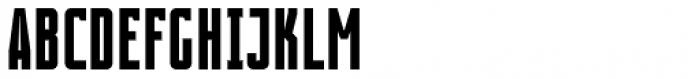 Contentor Bold Font UPPERCASE