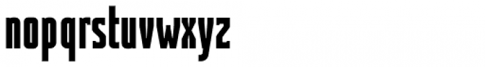 Contentor Bold Font LOWERCASE