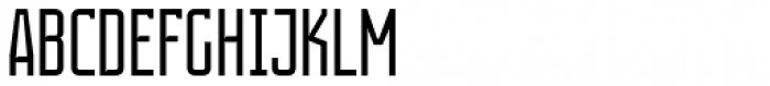 Contentor Light Font UPPERCASE