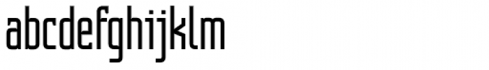 Contentor Light Font LOWERCASE
