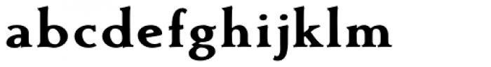 Contenu Black Font LOWERCASE