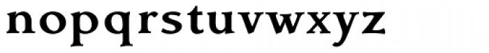 Contenu Book Bold Font LOWERCASE