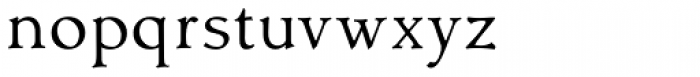Contenu Book Font LOWERCASE