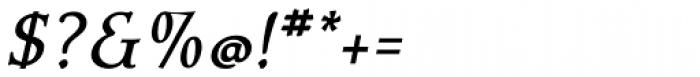 Contenu Italic Font OTHER CHARS