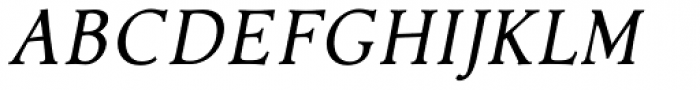 Contenu Italic Font UPPERCASE