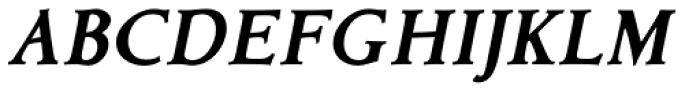 Contenue EBook Heavy Italic Font UPPERCASE