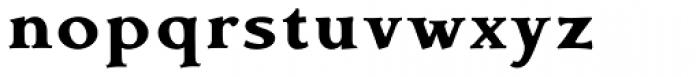 Contenue EBook Heavy Font LOWERCASE