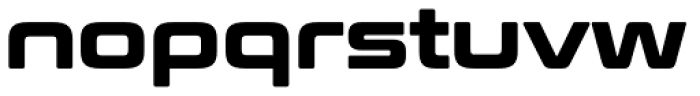 Conthrax Heavy Font LOWERCASE