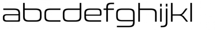 Conthrax Light Font LOWERCASE