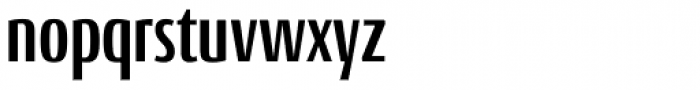 Conto Compressed Bold Font LOWERCASE