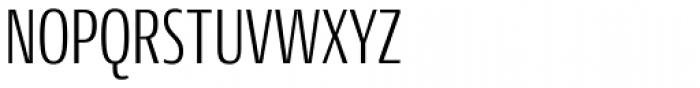 Conto Compressed Light Font UPPERCASE