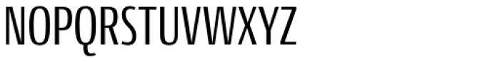 Conto Compressed Regular Font UPPERCASE