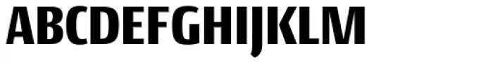 Conto Condensed Black Font UPPERCASE