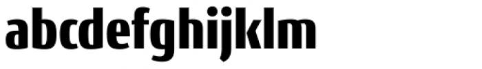 Conto Condensed Black Font LOWERCASE