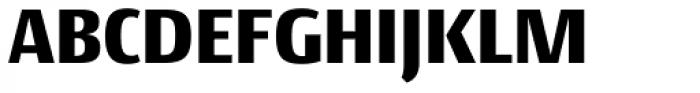 Conto Narrow Black Font UPPERCASE