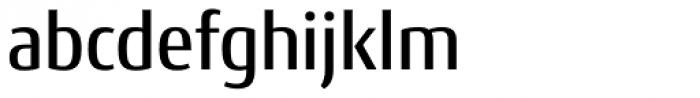 Conto Narrow Medium Font LOWERCASE