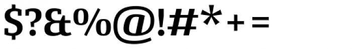 Conto Slab Bold Font OTHER CHARS