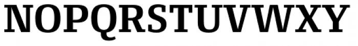 Conto Slab Bold Font UPPERCASE