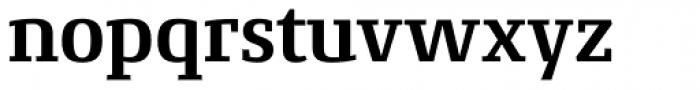 Conto Slab Bold Font LOWERCASE