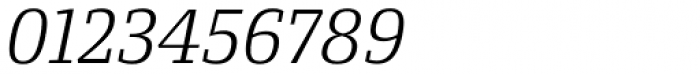 Conto Slab Light Italic Font OTHER CHARS