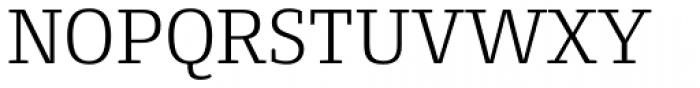 Conto Slab Light Font UPPERCASE