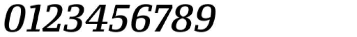 Conto Slab Medium Italic Font OTHER CHARS
