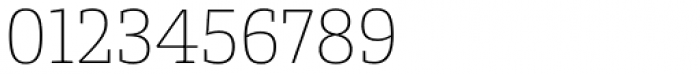 Conto Slab Thin Font OTHER CHARS
