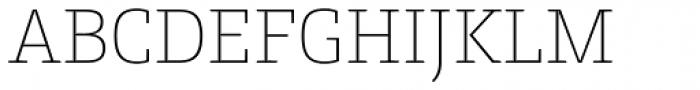 Conto Slab Thin Font UPPERCASE