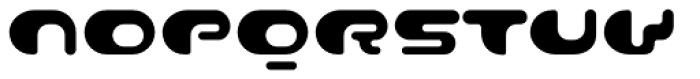 Contour Regular Font UPPERCASE
