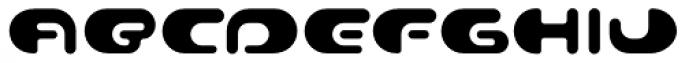 Contour Regular Font LOWERCASE