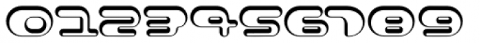 Contour Shaded Font OTHER CHARS