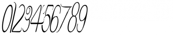 Contouration Italic Font OTHER CHARS
