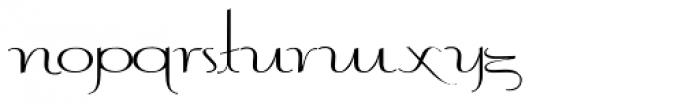Contouration Redux Font LOWERCASE