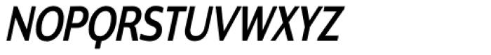 Contra Condensed Italic Font UPPERCASE