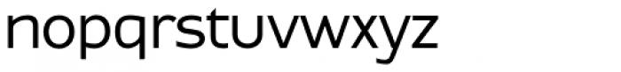 Contra Sans Book Font LOWERCASE