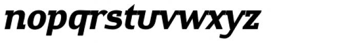 Contra Slab Bold Italic Font LOWERCASE