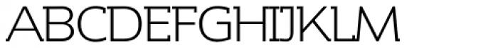 Contra Slab Light Font UPPERCASE