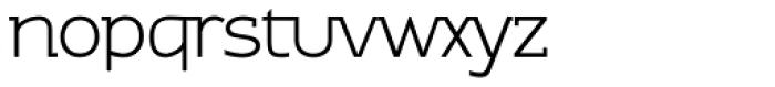 Contra Slab Light Font LOWERCASE