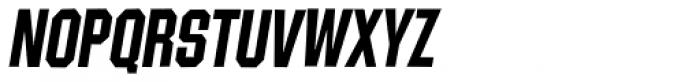 Contraption Bold Oblique Font UPPERCASE