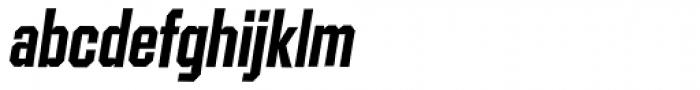 Contraption Bold Oblique Font LOWERCASE