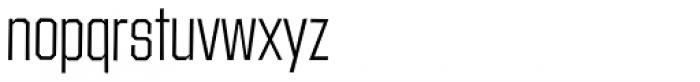Contraption Light Font LOWERCASE