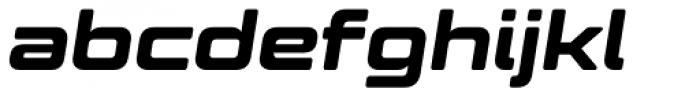 Controller Five Oblique Font LOWERCASE