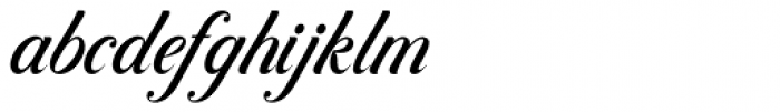 Controwell Script Font LOWERCASE
