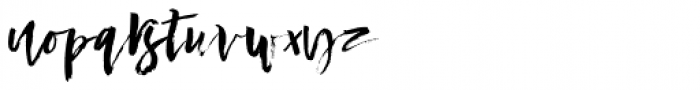 Conundrum Regular Font LOWERCASE