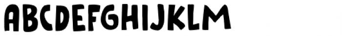 Cookie Crumble Regular Font UPPERCASE