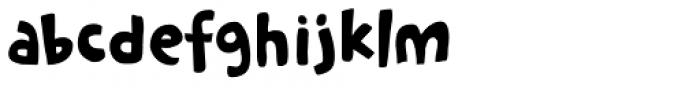Cookie Crumble Regular Font LOWERCASE