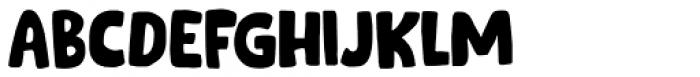 Cookie Supply Regular Font UPPERCASE
